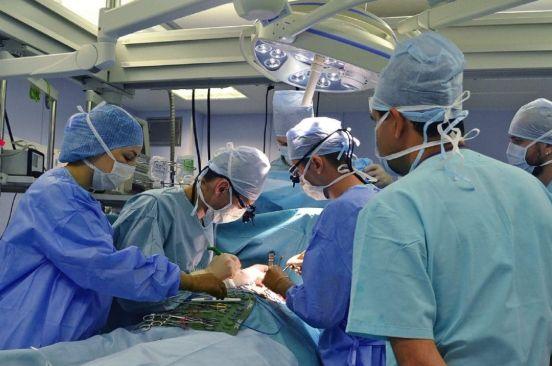 Хірургічне лікування вогепальної рани