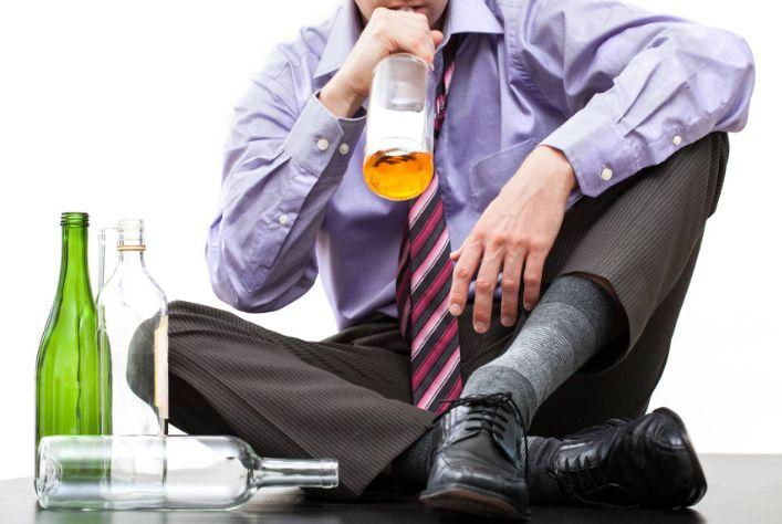 Депресія після алкоголю