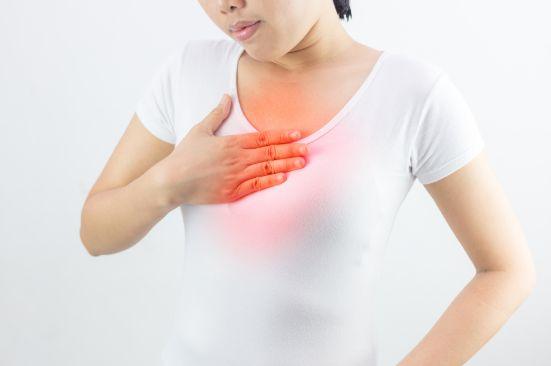 Перелом грудини