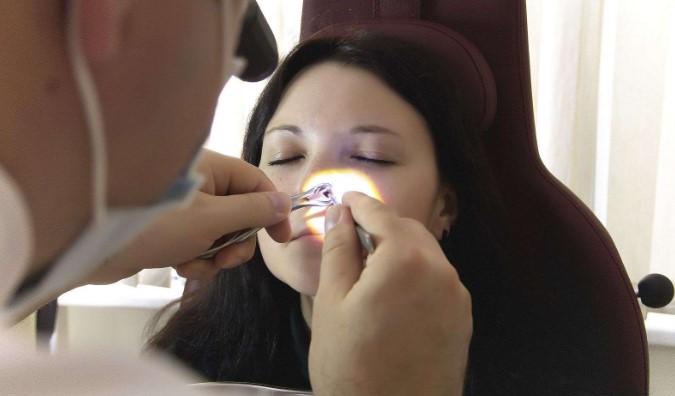 Діагностика гематоми перегородки носа
