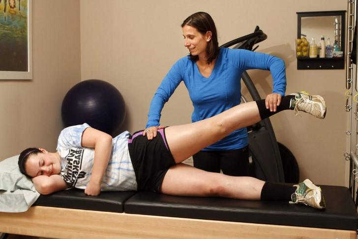 Реабілітація при артриті колінного суглоба
