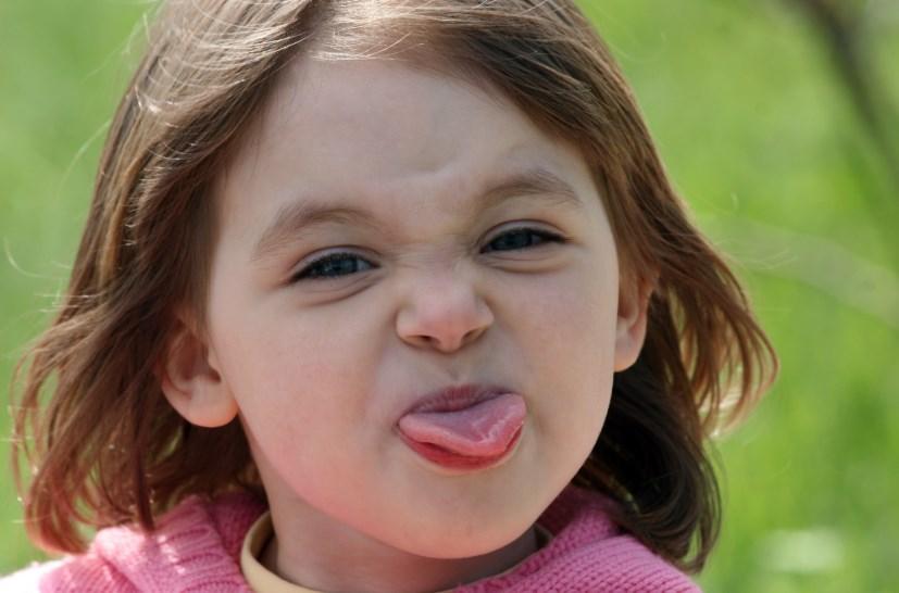 Географічний язик у дитини
