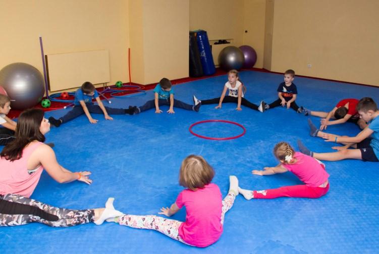 ЛФК (лікувальна фізкультура) для дітей дошкільного віку