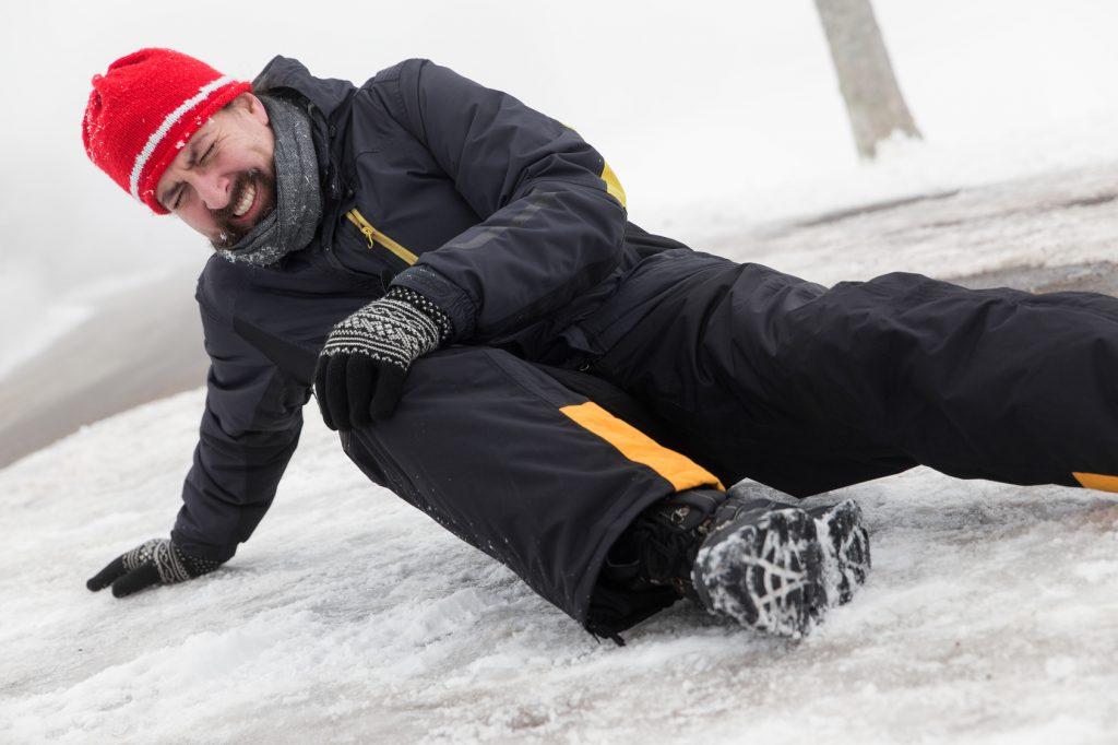 Перша допомога при травмі на льоду