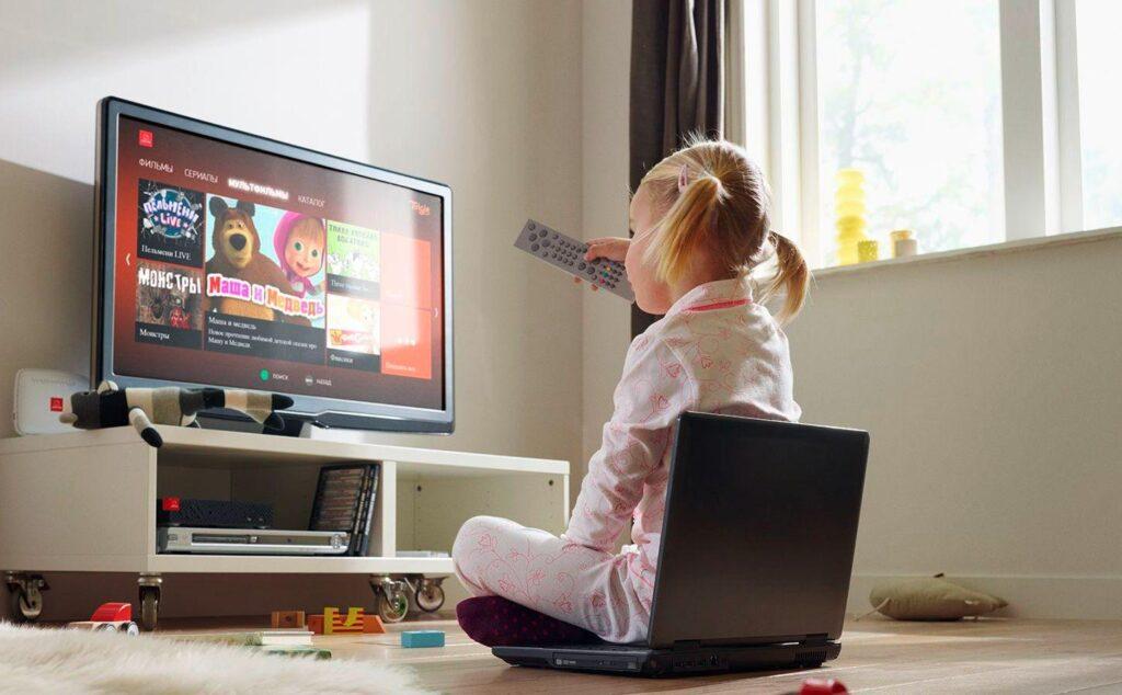 Вплив телевізора і комп'ютера на здоров'я дітей