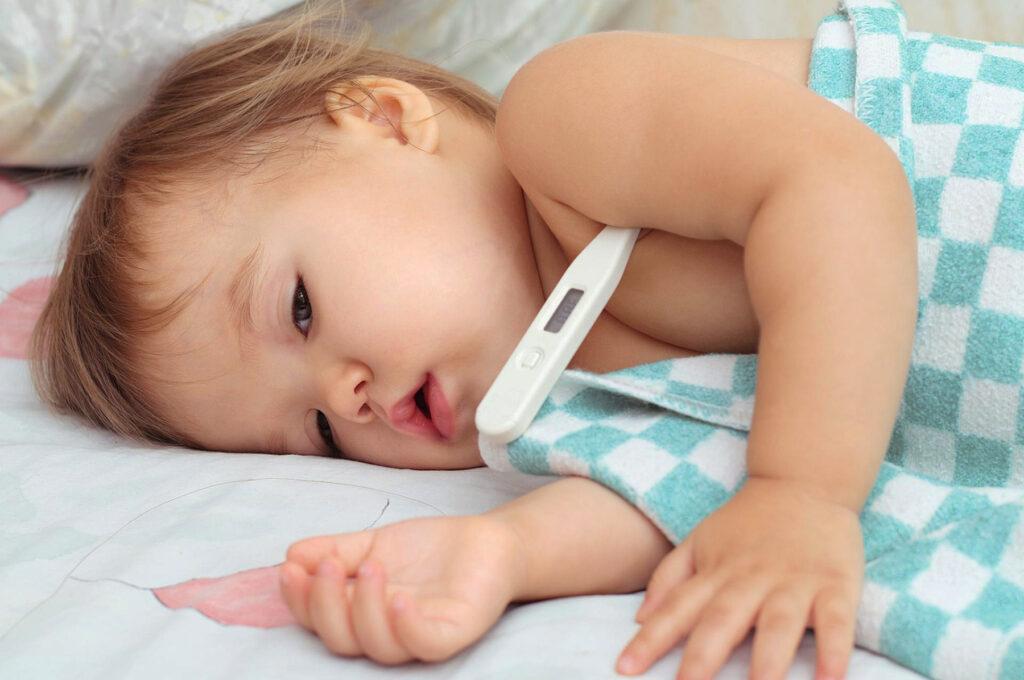 Фебрильні судоми у дітей раннього віку